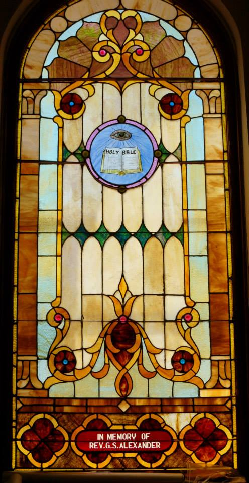 Reverand George Sherman Alexander Window